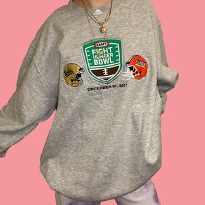 Adidas Kraft Fight Hunger Bowl Crewneck Sweater